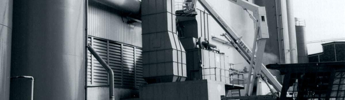 Entstaubung für Industrieanlagen