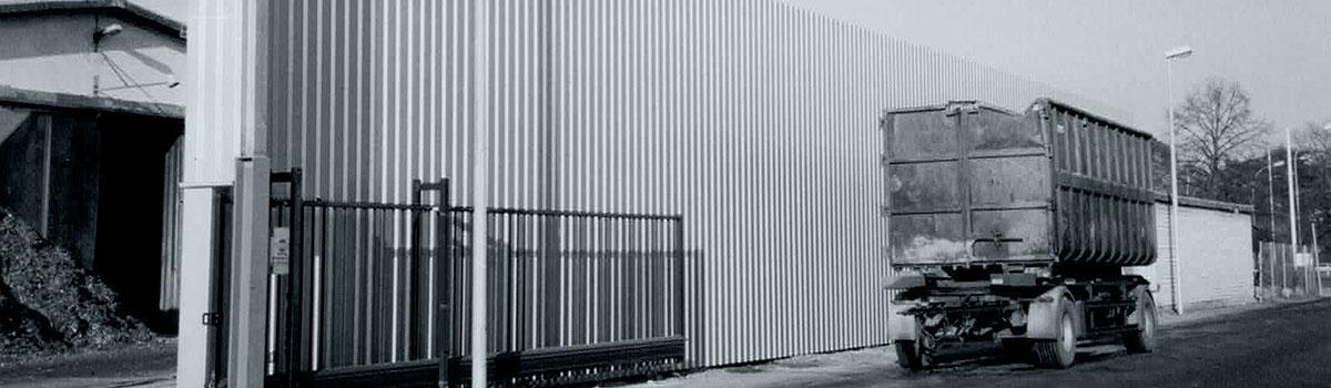 Gebäudeteile und Staubschutzwände